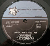 AL SUPERSONIC & THE TEENAGERS - UNDER CONSTRUCTION (OUTTA SIGHT) Mint Condition