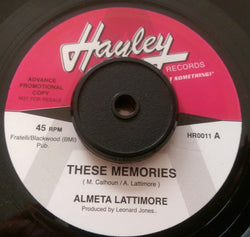 ALMETA LATTIMORE - THESE MEMORIES (HAYLEY Demo) Mint Condition