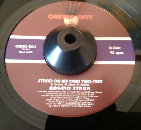 ANGELO STARR - STAND ON MY OWN TWO FEET (CENTER CITY) Mint Condition