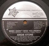 ANGIE STONE - WISH I DIDN'T MISS YOU (OUTTA SIGHT) Mint Condition