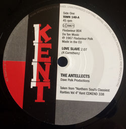 ANTELLECTS - LOVE SLAVE (KENT TOWN) Mint Condition