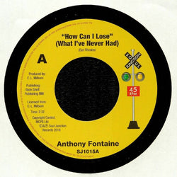 ANTHONY FONTAINE - STOP THAT OLD GRAPEVINE (SOUL JUNCTION) Mint Condition
