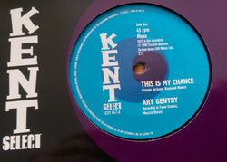 ART GENTRY b/w SHIRLEY BROWN (KENT CITY 047) Mint Condition