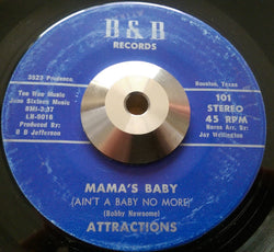 ATTRACTIONS - MAMMA'S BABY (B&B) Ex Condition