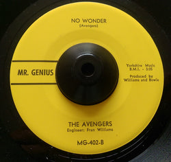 THE AVENGERS - NO WONDER (MR GENIUS) Ex Condition