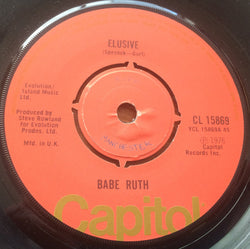 BABE RUTH - ELUSIVE (CAPITOL) Vg Condition
