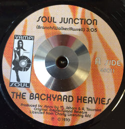 BACKYARD HEAVIES - SOUL JUNCTION (VAMPI SOUL) Mint Condition