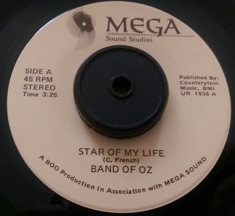 BAND OF OZ - STAR OF MY LIFE (MEGA) Mint Condition