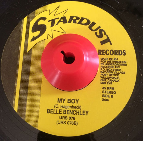 BELLE BENCHLEY - MY BOY (STARDUST) Mint Condition