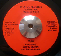 BERNIE MILTON - 60/40 (CHATON) Ex Condition