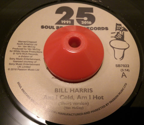 BILL HARRIS - AM I COLD, AM I HOT (SOUL BROTHER) Mint Condition