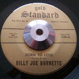 BILLY JOE BURNETTE (ARABIANS) - LET ME TRY (GOLD STANDARD) Vg+ Condition