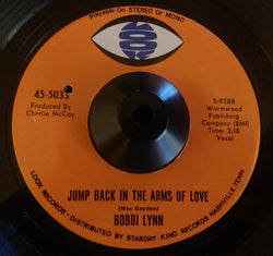 BOBBI LYNN - JUMP BACK IN THE ARMS OF LOVE (LOOK) Ex Condition