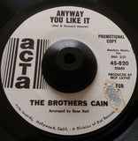 THE BROTHERS CAIN - IT SURE IS GROOVY (ACTA) Ex Condition