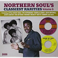 VARIOUS ARTISTS - NORTHERN SOUL'S CLASSIEST RARITIES Vol 6 (KENT CD) Sealed Condition