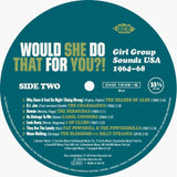 VARIOUS ARTISTS - WOULD SHE DO THAT FOR YOU (KENT LP) Mint Condition