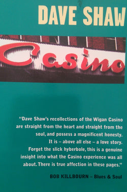 CASINO - DAVE SHAW -  Casino: Wigan 30th Anniversary Edition - New Condition