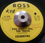 CELEBRITIES - YOU DIDN'T TELL THE TRUTH (BOSS)