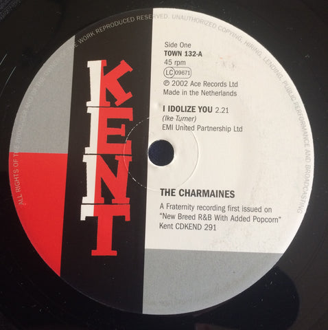 CHARMAINES - I IDOLIZE YOU (KENT TOWN) Mint Condition
