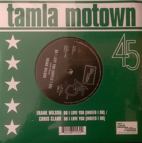 CHRIS CLARK / FRANK WILSON - DO I LOVE YOU (TAMLA MOTOWN) Mint Sealed Copy