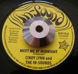 CINDY LYNN & THE IN-SOUND - MEET ME AT MIDNIGHT (OUTTA SIGHT) Mint Condition