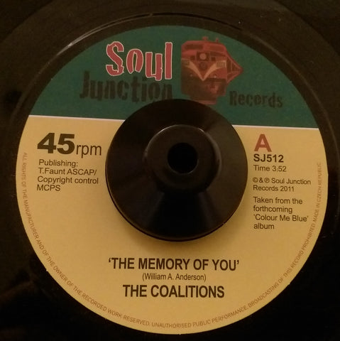 COALITIONS - THE MEMORY OF YOU (SOUL JUNCTION) Mint Condition