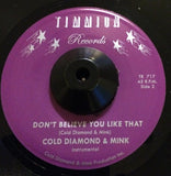 EMILIA SISCO - DON'T BELIEVE YOU LIKE THAT (TIMMION) Mint Condition
