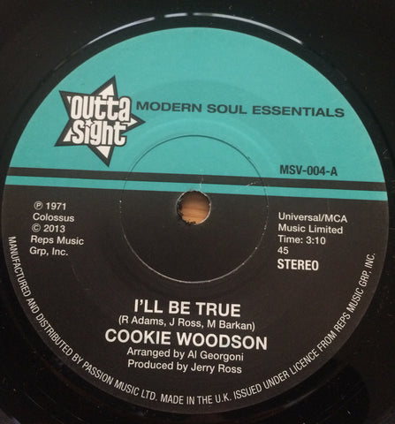COOKIE WOODSON / VIRGIL HENRY - I'LL BE TRUE (OUTTA SIGHT) Mint Condition