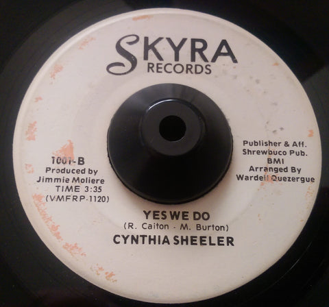 CYNTHIA SHEELER - YES WE DO (SKYRA) Ex Condition