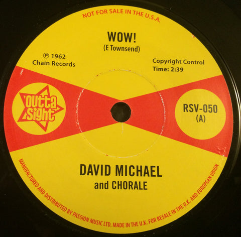 DAVID MICHAEL - WOW (OUTTA SIGHT) Mint Condition