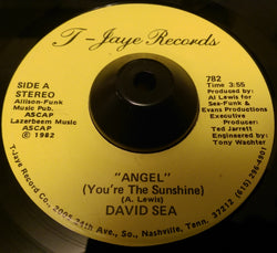 DAVID SEA - ANGEL ( T-JAYE) Ex Condition