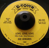 DEE EDWARDS - ALL THE WAY HOME (D-TOWN) Ex Condition