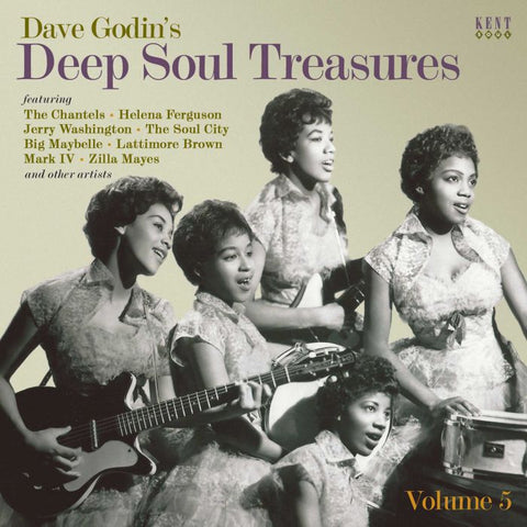 VARIOUS ARTISTS - Dave Godin's DEEP SOUL TREASURES (KENT CD) Sealed Copy