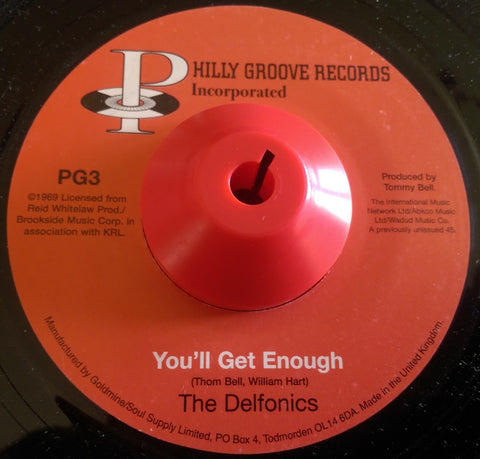 DELFONICS b/w CRUSADERS - YOU'LL GET ENOUGH b/w YOU PAY FOR LOVE (PHILLY GROOVE) Mint Condition