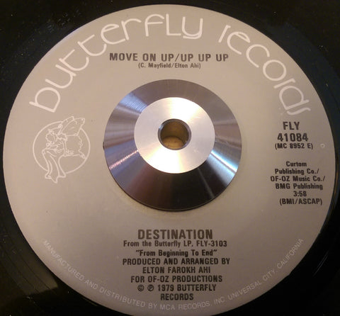 DESTINATION - MOVE ON UP/UP UP UP (BUTTERFLY) Ex Condition