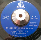 DIANE CHRISTIAN - LITTLE BOY (BELL) Ex Condition