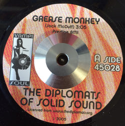 DIPLOMATS OF SOLID SOUND -GREASE MONKEY (VAMPI SOUL) Mint Condition