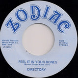 DIRECTORY - FEEL IT IN YOUR BONES (NUMERO) Mint Cindition