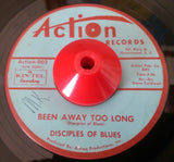 DISCIPLES OF BLUES - BEEN AWAY TOO LONG (ACTION) Ex Condition