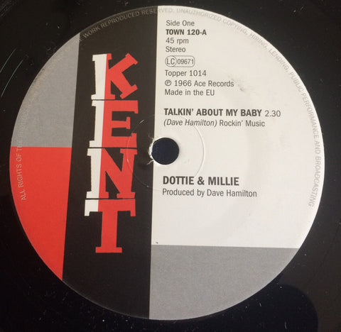 DOTTIE & MILLIE - TALKIN' ABOUT MY BABY (KENT TOWN) Mint Condition