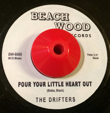 DRIFTERS - POUR YOUR LITTLE HEART OUT (BEACH WOOD) Mint Condition