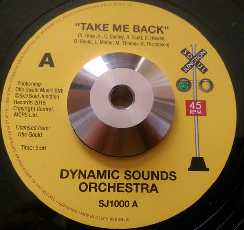 DYNAMIC SOUND ORCHESTRA - TAKE ME BACK (SOUL JUNCTION) Mint Condition.