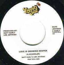 EARLY & JEFFRIES Feat WILL BEE - LOVE IS GROWING DEEPER (LIQUID SOUL) Mint Condition