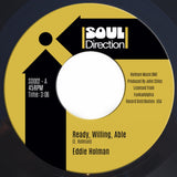 EDDIE HOLMAN - READY, WILLING, ABLE (SOUL DIRECTION) Mint Condition.