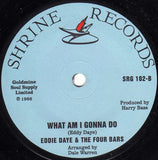 EDDIE DAYE & THE FOUR BARS - GUESS WHO LOVES YOU (SHRINE) Mint Condition
