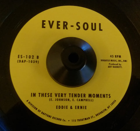 EDDIE & ERNIE - BULLET DON'T HAVE EYES (EVER-SOUL) Mint Condition