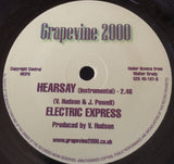 ELECTRIC EXPRESS - HEARSAY (GRAPEVINE) Mint Condition