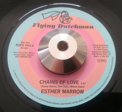 ESTHER MARROW - CHAINS OF LOVE (BGPS) Mint Condition