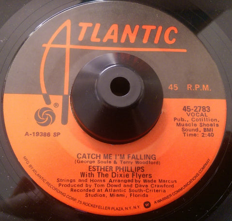 ESTHER PHILLIPS - CATCH ME I'M FALLING (ATLANTIC) Ex Condition