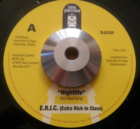 E.R.I.C - NIGHTLIFE (SOUL JUNCTION) Mint Condition